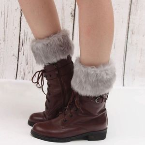 🆕🔥PRICE DROP🔥Faux Fur boot toppers,Leg warmers